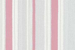 6991-06 cikkszámú tapéta.Csíkos,különleges felületű,retro,fehér,piros-bordó,szürke,zöld,lemosható,illesztés mentes,vlies tapéta