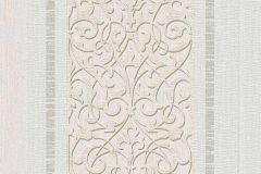 6992-14 cikkszámú tapéta.Barokk-klasszikus,csíkos,csillámos,retro,természeti mintás,virágmintás,bézs-drapp,szürke,vajszínű,zöld,lemosható,vlies tapéta