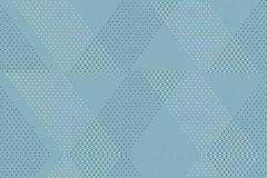 5416-08 cikkszámú tapéta.Absztrakt,különleges felületű,fehér,kék,lemosható,vlies tapéta