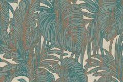 5410-19 cikkszámú tapéta.Csillámos,természeti mintás,bézs-drapp,bronz,türkiz,lemosható,vlies tapéta