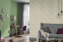 5411-05 cikkszámú tapéta.Absztrakt,különleges felületű,különleges motívumos,textilmintás,fehér,pink-rózsaszín,zöld,lemosható,vlies tapéta