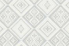 5411-31 cikkszámú tapéta.Absztrakt,különleges felületű,különleges motívumos,textilmintás,gyöngyház,szürke,lemosható,vlies tapéta