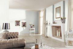 5414-01 cikkszámú tapéta.Egyszínű,különleges felületű,textilmintás,fehér,lemosható,illesztés mentes,vlies tapéta