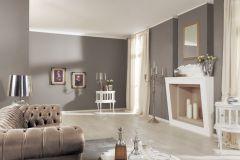 5414-11 cikkszámú tapéta.Egyszínű,különleges felületű,textilmintás,barna,lemosható,illesztés mentes,vlies tapéta