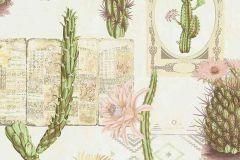 6312-05 cikkszámú tapéta.Különleges felületű,különleges motívumos,természeti mintás,fehér,zöld,lemosható,vlies tapéta
