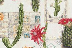 6312-06 cikkszámú tapéta.Különleges felületű,különleges motívumos,természeti mintás,fehér,narancs-terrakotta,piros-bordó,zöld,lemosható,vlies tapéta