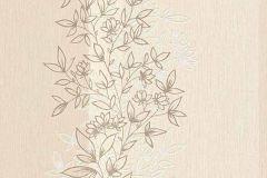 6471-02 cikkszámú tapéta.Dekor tapéta ,természeti mintás,virágmintás,bézs-drapp,lemosható,illesztés mentes,vlies tapéta