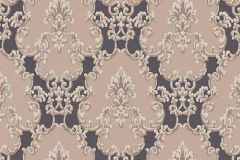 6376-11 cikkszámú tapéta.Barokk-klasszikus,csillámos,különleges felületű,barna,bézs-drapp,lemosható,vlies tapéta
