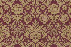 6378-06 cikkszámú tapéta.Barokk-klasszikus,különleges felületű,arany,piros-bordó,lemosható,vlies tapéta