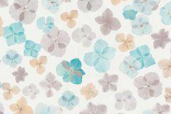 6339-18 cikkszámú tapéta.Csillámos,különleges felületű,különleges motívumos,rajzolt,természeti mintás,virágmintás,barna,bézs-drapp,fehér,kék,zöld,lemosható,vlies tapéta