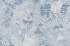 6473-08 cikkszámú tapéta.Absztrakt,geometriai mintás,különleges felületű,különleges motívumos,természeti mintás,virágmintás,fehér,kék,lemosható,vlies tapéta