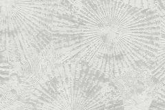 6473-10 cikkszámú tapéta.Absztrakt,geometriai mintás,különleges felületű,virágmintás,szürke,lemosható,vlies tapéta