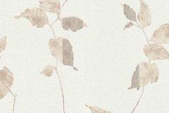 6489-02 cikkszámú tapéta.Különleges felületű,retro,természeti mintás,virágmintás,barna,bézs-drapp,lemosható,vlies tapéta