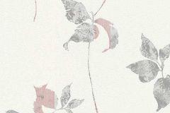 6489-10 cikkszámú tapéta.Különleges felületű,retro,természeti mintás,virágmintás,bézs-drapp,piros-bordó,szürke,lemosható,vlies tapéta