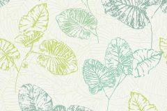 5426-07 cikkszámú tapéta.Különleges felületű,természeti mintás,fehér,zöld,lemosható,vlies tapéta