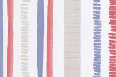 6449-08 cikkszámú tapéta.Absztrakt,csíkos,retro,gyöngyház,lila,piros-bordó,lemosható,illesztés mentes,vlies tapéta