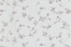 5824-09 cikkszámú tapéta.Különleges felületű,virágmintás,lila,szürke,zöld,lemosható,vlies tapéta