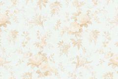 5825-14 cikkszámú tapéta.Virágmintás,narancs-terrakotta,zöld,lemosható,vlies tapéta