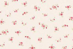 5827-06 cikkszámú tapéta.Virágmintás,narancs-terrakotta,piros-bordó,lemosható,vlies tapéta