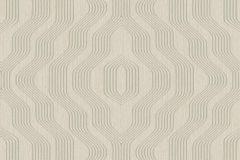 BT3402 cikkszámú tapéta.3d hatású,absztrakt,geometriai mintás,bézs-drapp,szürke,súrolható,vlies tapéta
