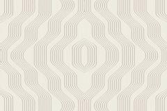 BT3407 cikkszámú tapéta.3d hatású,absztrakt,geometriai mintás,bézs-drapp,szürke,súrolható,vlies tapéta
