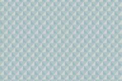 EN3103 cikkszámú tapéta.3d hatású,absztrakt,különleges felületű,szürke,türkiz,lemosható,vlies tapéta