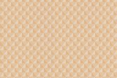 EN3104 cikkszámú tapéta.3d hatású,absztrakt,különleges felületű,bézs-drapp,narancs-terrakotta,lemosható,vlies tapéta