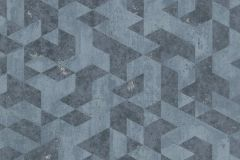 EN3501 cikkszámú tapéta.3d hatású,absztrakt,különleges felületű,kék,szürke,lemosható,vlies tapéta