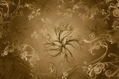 8-703 cikkszámú tapéta.Absztrakt,arany,barna,gyengén mosható,papír poszter, fotótapéta