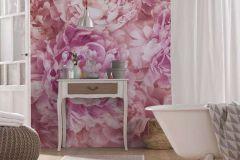XXL2-009 cikkszámú tapéta.Virágmintás,pink-rózsaszín,sárga,gyengén mosható,vlies poszter, fotótapéta