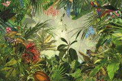 XXL4-031 cikkszámú tapéta.Tájkép,természeti mintás,barna,kék,piros-bordó,sárga,zöld,gyengén mosható,vlies poszter, fotótapéta