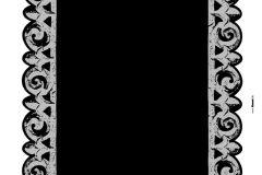 17019 cikkszámú tapéta.Különleges motívumos,fekete,szürke,anyagában öntapadós falmatrica