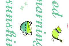 17046 cikkszámú tapéta.Feliratos-számos,gyerek,rajzolt,piros-bordó,türkiz,zöld,anyagában öntapadós falmatrica