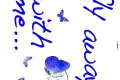 17719 cikkszámú tapéta.Feliratos-számos,gyerek,rajzolt,kék,zöld,anyagában öntapadós falmatrica