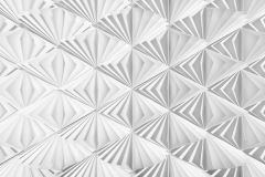 8-204 cikkszámú tapéta.3d hatású,geometriai mintás,fehér,szürke,papír poszter, fotótapéta