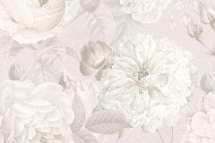 XXL2-066 cikkszámú tapéta.Természeti mintás,virágmintás,fehér,szürke,vlies poszter, fotótapéta
