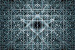 XXL4-061 cikkszámú tapéta.3d hatású,absztrakt,geometriai mintás,különleges motívumos,fekete,kék,szürke,vlies poszter, fotótapéta