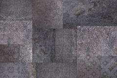 XXL4-062 cikkszámú tapéta.Fémhatású - indusztriális,geometriai mintás,metál-fényes,fekete,szürke,vlies poszter, fotótapéta