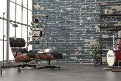 XXL4-067 cikkszámú tapéta.Kőhatású-kőmintás,barna,fekete,szürke,vlies poszter, fotótapéta