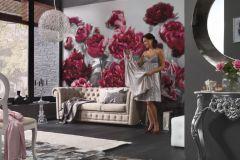 XXL4-002 cikkszámú tapéta.Fotórealisztikus,virágmintás,fehér,pink-rózsaszín,sárga,gyengén mosható,vlies poszter, fotótapéta