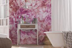 XXL2-009 cikkszámú tapéta.Fotórealisztikus,virágmintás,fehér,pink-rózsaszín,gyengén mosható,vlies poszter, fotótapéta