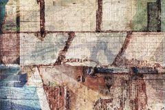 6001A-VD3 cikkszámú tapéta.Absztrakt,barna,bézs-drapp,kék,piros-bordó,zöld,vlies poszter, fotótapéta