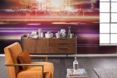 6013A-VD4 cikkszámú tapéta.Emberek-sztárok,fotórealisztikus,barna,kék,lila,narancs-terrakotta,szürke,vlies poszter, fotótapéta