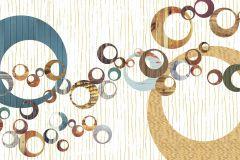 6015B-VD4 cikkszámú tapéta.Különleges felületű,különleges motívumos,retro,arany,bézs-drapp,fehér,kék,piros-bordó,sárga,vlies poszter, fotótapéta