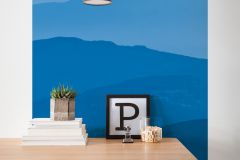 6021A-VD1 cikkszámú tapéta.Természeti mintás,kék,vlies poszter, fotótapéta