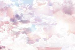 6027A-VD3 cikkszámú tapéta.Különleges motívumos,természeti mintás,fehér,kék,lila,vlies poszter, fotótapéta