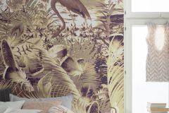 6031C-VD2 cikkszámú tapéta.állatok,különleges felületű,különleges motívumos,természeti mintás,barna,bézs-drapp,lila,szürke,vlies poszter, fotótapéta