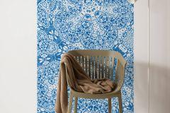 6034A-VD1 cikkszámú tapéta.Absztrakt,különleges felületű,különleges motívumos,fehér,kék,vlies poszter, fotótapéta