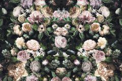 6035A-VD8 cikkszámú tapéta.Fotórealisztikus,különleges motívumos,virágmintás,bézs-drapp,lila,narancs-terrakotta,pink-rózsaszín,szürke,zöld,vlies poszter, fotótapéta