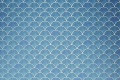 6043A-VD2 cikkszámú tapéta.Absztrakt,konyha-fürdőszobai,különleges motívumos,ezüst,kék,vlies poszter, fotótapéta
